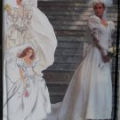 Ladies Wedding Dress Simplicity 7429 Pattern, Size 8 To 16, Uncut