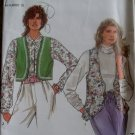 Misses&#39;  lined Vest Simplicity 7985 Pattern, Sz Pt To XL, Uncut
