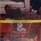 Vintage Simplicity 6824 Marjorie Puckett Dog Cat Mouse  Pattern