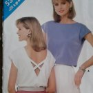 Butterick 5385 Patterns Misses' Top, Sizes 6, 8, 10,  UNCUT