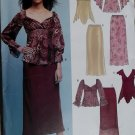 Misses Top and Skirt New Look 6406 Sewing Pattern, Plus Size 10 to 22,