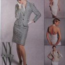 McCall's 8096 NY Collection misses' Skirt, Top and lined Jacket, size 10 Uncut