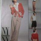 NY Collection Misses Jacket, Top, Pants, Shorts McCalls 8216 Pattern, Size 10 12 14, Uncut
