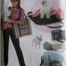 Pet carry bags, carry beds w blankets, & treat bags Simplicity 4716 Pattern, Uncut