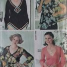 Misses Set Of Blouses McCalls 5359 Pattern, Size Small 10 12, UNCUT
