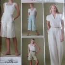 Simplicity 3756, Misses Pants and Shorts Threads Magazine Collection Pattern, Size 10 to 18, Uncut