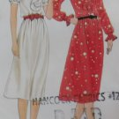 Vintage Misses Dress Butterick 3354 Sewing Pattern, Size 8, UNCUT