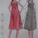 Vintage  Misses maternity Jumper & Dress Butterick 5890 Sewing Pattern, Size 8, UNCUT