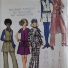Vintage Jacket, Dress or Jumper & Pants Butterick 5892 Sewing Pattern, Size 10, UNCUT