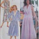 Easy Misses' or Petite Dress Butterick 4081 Pattern, Size 6 8 10, Uncut