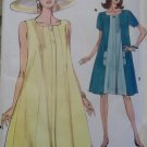 OOP Easy Vogue 8046 Pattern,  Misses Dress, Plus Sz 14 16 18, Uncut