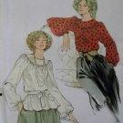 Vintage Misses Yoke neckline Blouse Vogue 9345 Pattern, Size 14 Uncut
