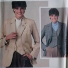 Vintage Misses' Jacket and Vest Butterick 3924 Pattern, Size 14 Uncut