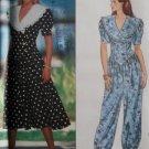 Misses Dress & Jumpsuit Butterick 5437 Pattern, size 12 14 16, Uncut