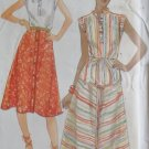 Vintage Butterick 5324 Misses' Top, Skirt & Belt Pattern, Size 12, Uncut