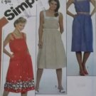 Vintage Easy Simplicity 5443 Misses Pullover SunDress Pattern, Sz 10, 12, 14, Uncut