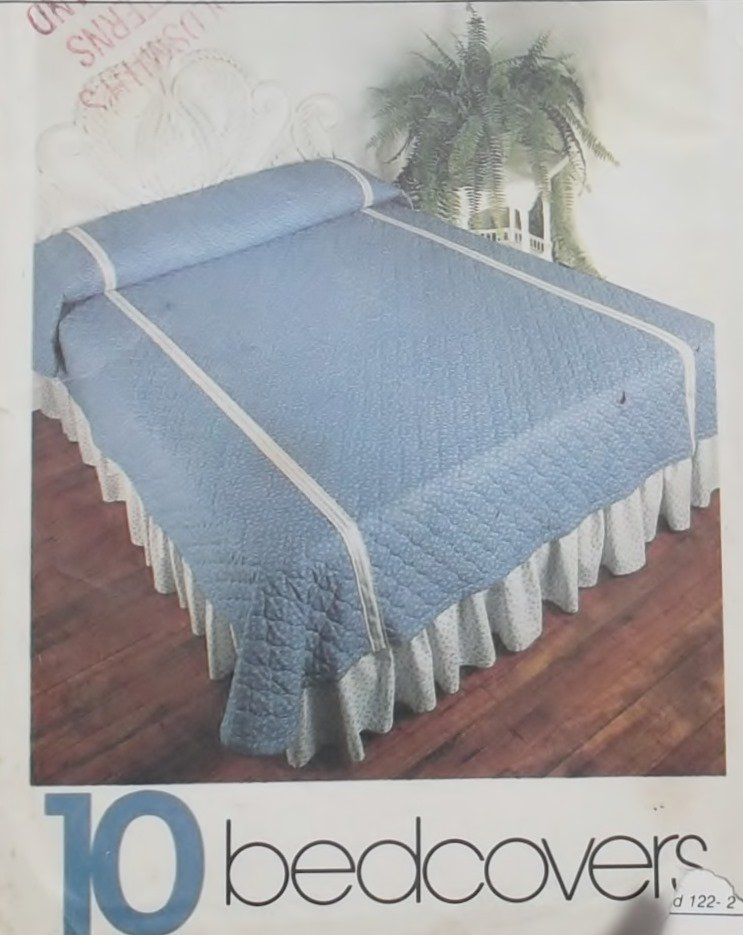 Simplicity House 10 Bedcovers Simplicity 122 Patterns,