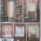 Botsford Interiors Victorian Window Treatments Simplicity 5058 Patterns, Uncut