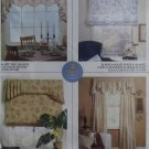 Home Dec in a sec, Valances and Shade McCalls M 4536 Patterns, Uncut