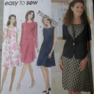 OOP Simplicity 7117 Misses Dress & Jacket Sewing Pattern, Sz 14 16 18, Uncut