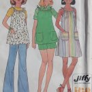 Simplicity 7551 Maternity Jiffy Misses' Dress or Top & Pants or Shorts, Pattern, Size 14, Uncut