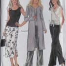 New Look 6029 Misses' Jacket, Top, Skirt & Pants Pattern, Sz 6 to 16, Uncut