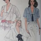 Misses Blouse Vogue 8888 Pattern, Size 8 10 12. Uncut
