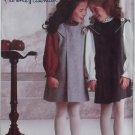 1980s Florence Eiseman Design Child's Jumper and Blouse Simplicity 7058 Pattern, Size 5, Uncut