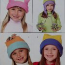 McCalls M 4957 Easy Girls' & Boys' Hat in 4 sizes Pattern, Size S M L XL, UNCUT FF