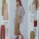 OOP Simplicity 8647 Misses Shirt Dress Top Pants Skirt Sewing Pattern, Sz 14 16 18, Uncut