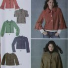 Misses' Jackets in 5 versions Simplicity 3627 Pattern, Plus Size 14 to 22, UNCUT