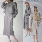Perry Ellis Design Misses Jacket and Skirt Vogue 1354 Pattern, size 10, bust 32 1/2, Uncut