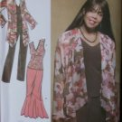 Women's Jacket, Knit Top, Pants & Skirt  Simplicity 3894 Pattern, Plus Size 20W to 28W, Uncut