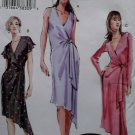 OOP Easy Misses wrap Dress Vogue V 7898 Sewing Pattern, Plus Size 18 20 22, UNCUT