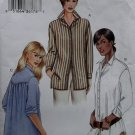 OOP Misses' or Petite Shirt Vogue 7700 Sewing Pattern, Plus Size 18 20 22, UNCUT