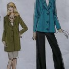 Misses Jacket in 2 lengths Skirt & Pants Vogue V 8464 Pattern,  Plus Sz 18 20 22 24,  UNCUT