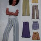 New Look 6354 Misses' Jacket, Top, Skirt & Pants Pattern, Sz 6 to 16, Uncut