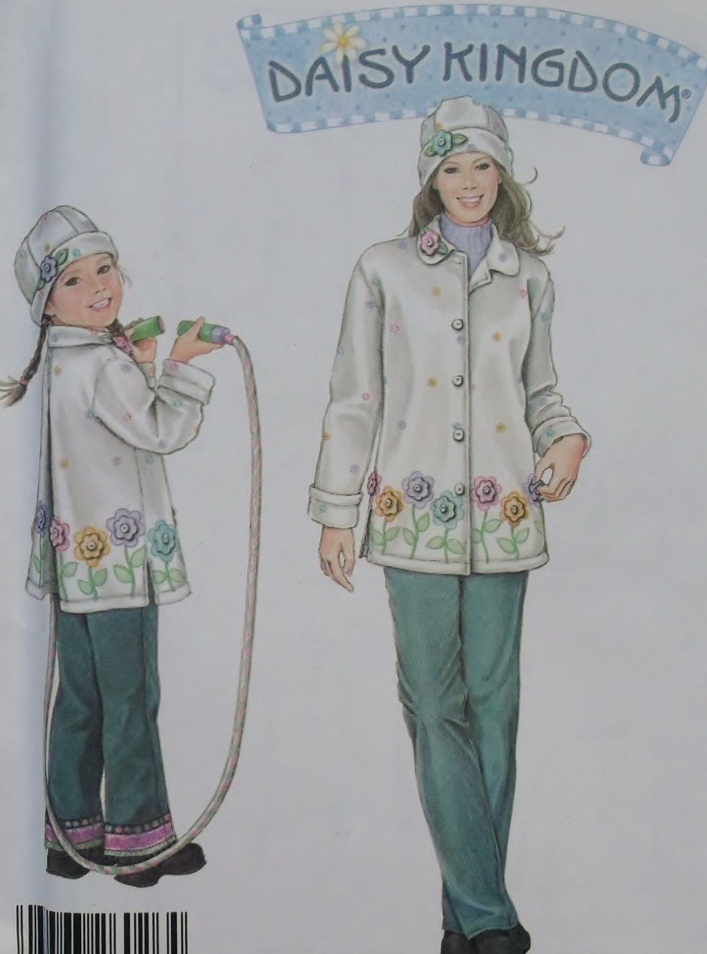 Simplicity 5946 Daisy Kingdom Girl & Miss Jacket & Hat Pattern, Dress,  Miss 6 to 24, Girl 3 to 8,