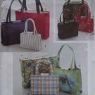Simplicity 8331 Sewing Pattern Handbags in Two or Three Sizes & Tote, Uncut
