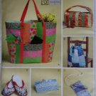 McCalls M4401 Sewing Pattern Fat Quarters Bags & Travel Accessories, Uncut