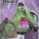 McCalls M4884 Sewing Pattern Sewing With Nancy Design 3 Drawstring Bags, Uncut