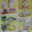 Simplicity 4362 Sewing Pattern Shirley Botsford Designs Fabric Containers, Uncut