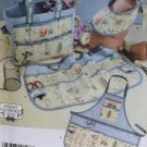 Simplicity 4597 Garden Bag Apron Visor Pattern, Uncut