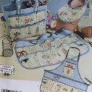 Simplicity 4597 Garden Bag Apron Visor Pattern, Uncut
