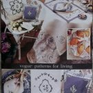 Vogue 3693 Sewing Pattern Tea Table Accessories, Uncut