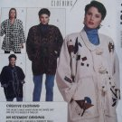 McCalls 7187 Creative Clothing Misses' Unlined Jacket Pattern, Plus Size 8 to 20, Uncut