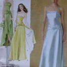 Misses, Petite Evening Dress Wrap & Purse Simplicity 4272 Pattern, Size 8 to 15, Uncut