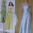 Misses, Petite Evening Dress Wrap & Purse Simplicity 4272 Pattern, Size 8 to 15, Uncut