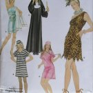 Easy Misses Costumes Nun Cavegirl Prisoner Toga Nurse Simplicity 3608 Pattern, Plus Sz XS - XL, Unct