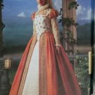 OOP Shakespeare Elizabethan Dress Costume Simplicity 8881 Pattern Plus Sz 14 to 20 Uncut